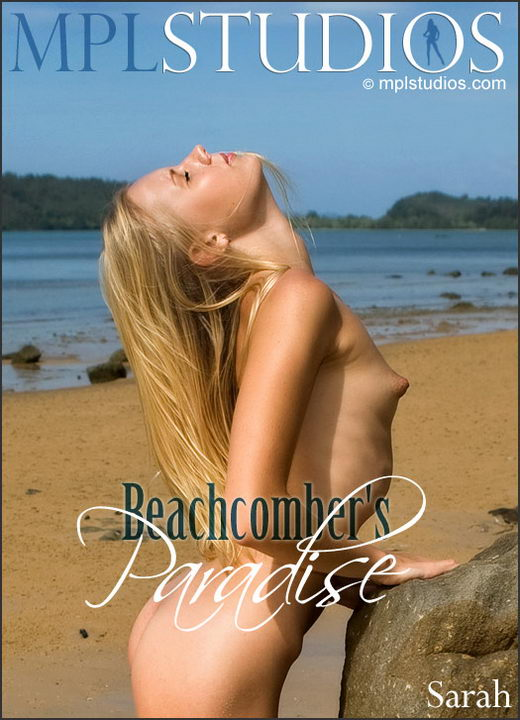 Sarah - `Beachcomber's Paradise` - by Jan Svend for MPLSTUDIOS