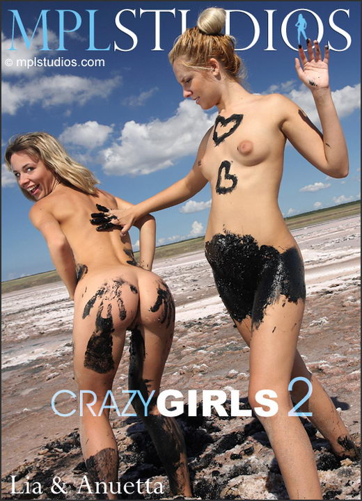Anuetta and Lia - `Crazy Girls 2` - by Alexander Lobanov for MPLSTUDIOS