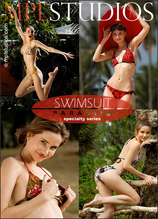 Anya - `Swimsuit Paradise` - by Jan Svend for MPLSTUDIOS