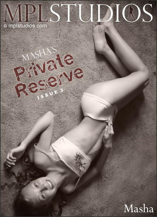 Masha - `Masha's Private Reserve 3` - by Mikhail Paromov for MPLSTUDIOS