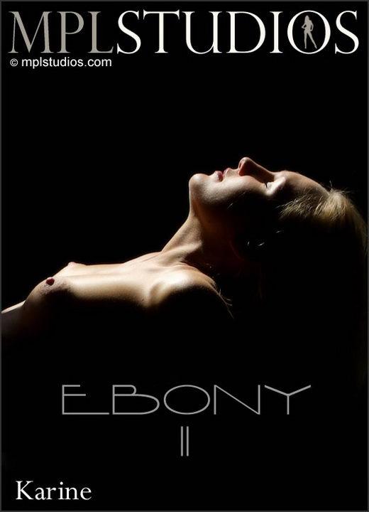 Karine - `Ebony 2` - by Alexander Fedorov for MPLSTUDIOS