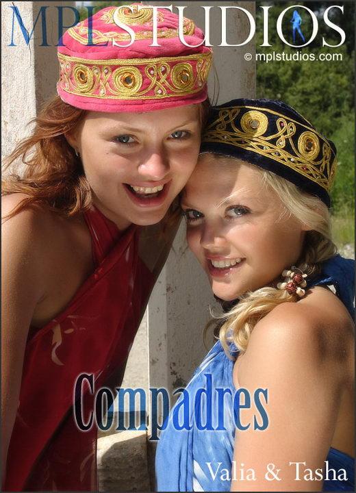 Valia & Tasha - `Compadres` - by Alexander Lobanov for MPLSTUDIOS