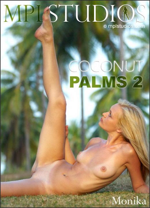 Monika - `Coconut Palms 2` - by Jan Svend for MPLSTUDIOS