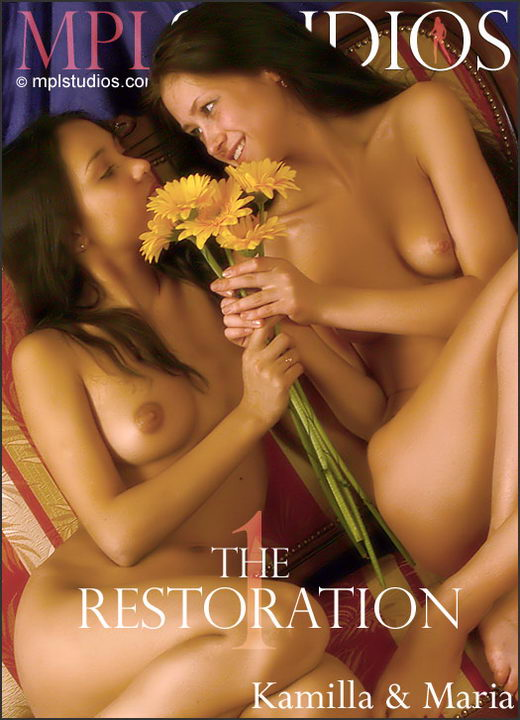 Maria & Kamilla - `The Restoration: 1` - by Alexander Fedorov for MPLSTUDIOS