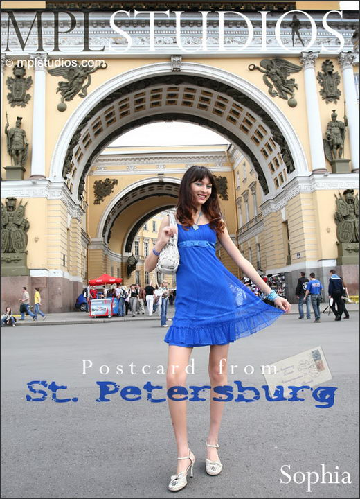 Sophia - `Postcard From St. Petersburg` - by Mikhail Paromov for MPLSTUDIOS
