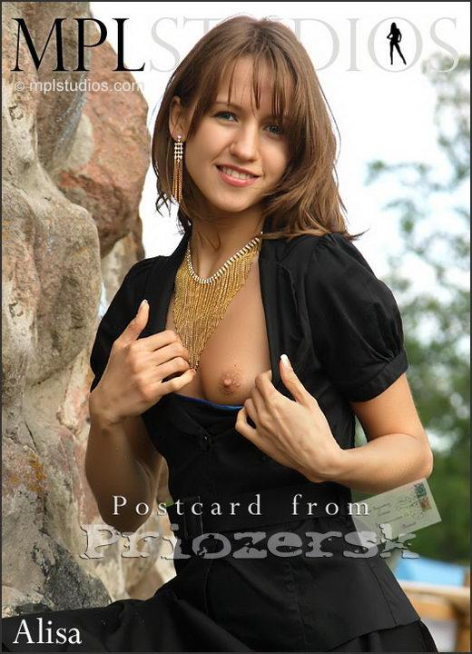 Alisa in Postcard from Priozersk gallery from MPLSTUDIOS by Alexander Fedorov
