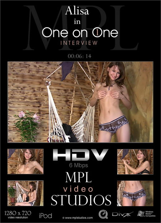 Alisa - `One on One Interview part 1` - by Alexander Fedorov for MPLSTUDIOS