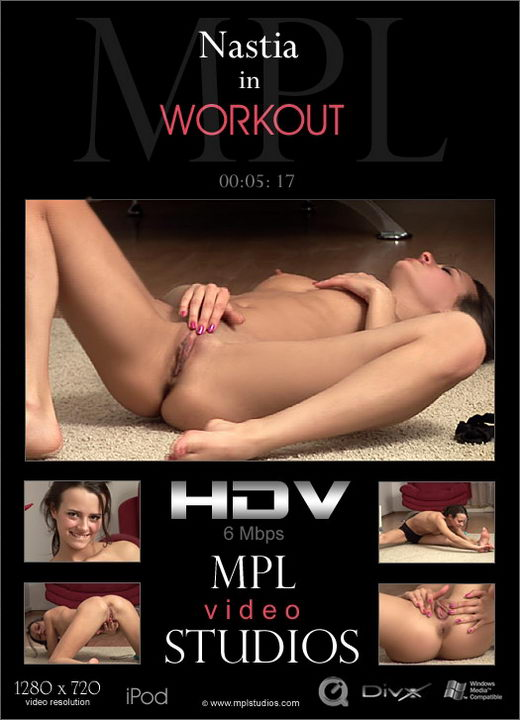 Nastia - `Workout` - by Alexander Fedorov for MPLSTUDIOS