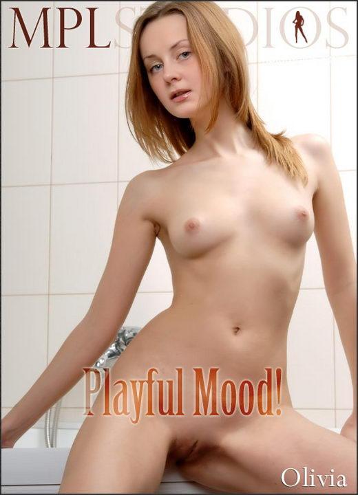 Olivia - `Playful Mood!` - by Maria Shamilov for MPLSTUDIOS