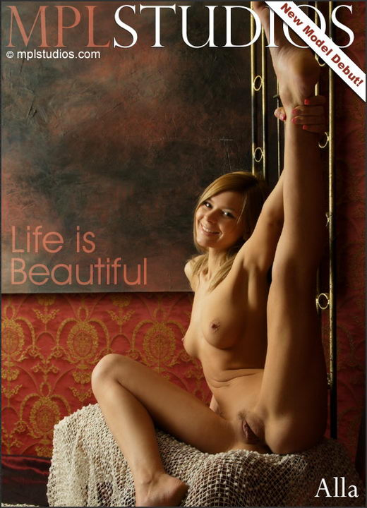 Alla - `Life Is Beautiful` - by Alexander Fedorov for MPLSTUDIOS