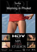 Sasha in Morning In Phuket video from MPLSTUDIOS by Jan Svend