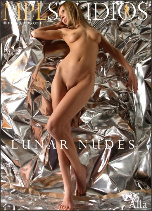 Alla - `Lunar Nudes` - by Alexander Fedorov for MPLSTUDIOS