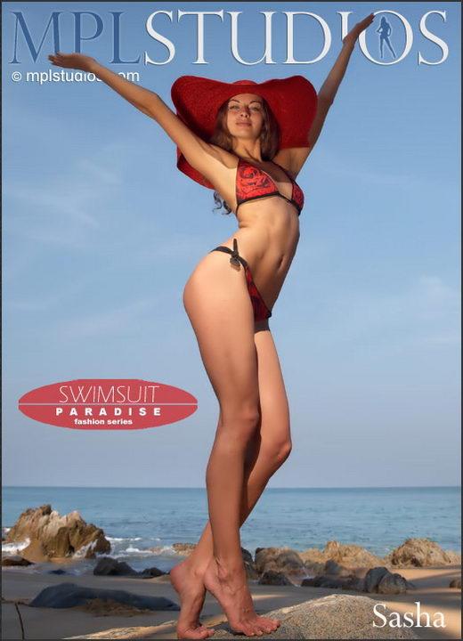 Sasha - `Swimsuit Paradise` - by Jan Svend for MPLSTUDIOS