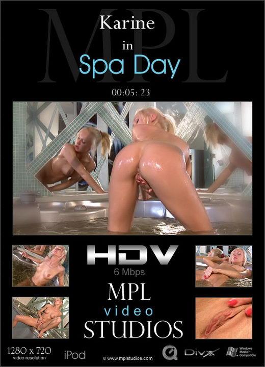 Karine - `Spa Day` - by Alexander Fedorov for MPLSTUDIOS