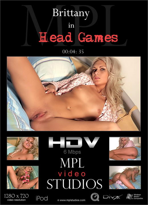 Brittany - `Head Games` - by Michael Maker for MPLSTUDIOS