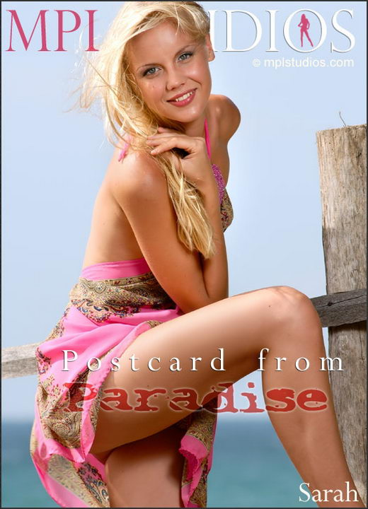 Sarah - `Postcard from Paradise` - by Jan Svend for MPLSTUDIOS