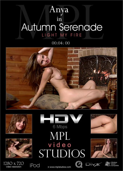Anya - `Autumn Serenade: Light My Fire` - by Jan Svend for MPLSTUDIOS