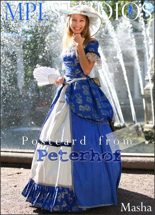 Masha - `Postcard from Peterhof` - for MPLSTUDIOS