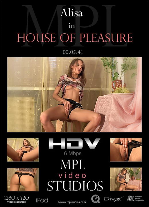 Alisa - `House of Pleasure` - by Alexander Fedorov for MPLSTUDIOS
