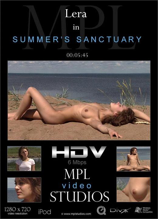 Lera - `Summer's Sanctuary` - by Alexander Fedorov for MPLSTUDIOS