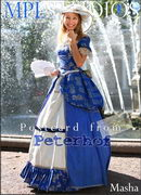 Masha - Postcard from Peterhof