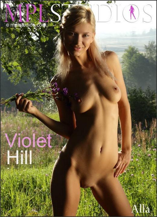 Alla - `Violet Hill` - by Alexander Fedorov for MPLSTUDIOS