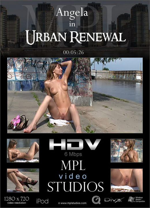 Angela - `Urban Renewal` - by Alexander Fedorov for MPLSTUDIOS