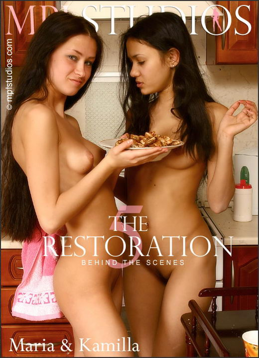 Maria & Kamilla - `The Restoration 5: BTS` - by Alexander Fedorov for MPLSTUDIOS