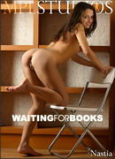 Nastia in Waiting for Books gallery from MPLSTUDIOS by Alexander Fedorov