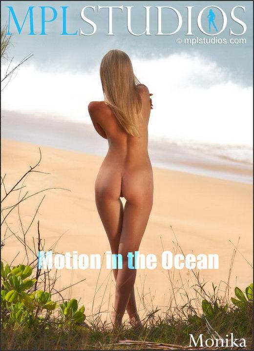 Monika - `Motion in the Ocean` - by Jan Svend for MPLSTUDIOS