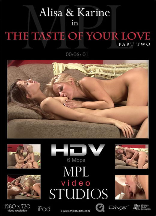 Alisa & Karine - `The Taste of Your Love 2` - by Alexander Fedorov for MPLSTUDIOS