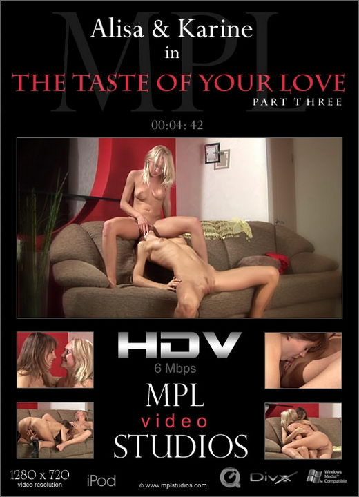Alisa & Karine - `The Taste of Your Love 3` - by Alexander Fedorov for MPLSTUDIOS