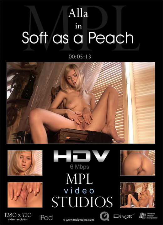 Alla - `Soft as a Peach` - by Alexander Fedorov for MPLSTUDIOS