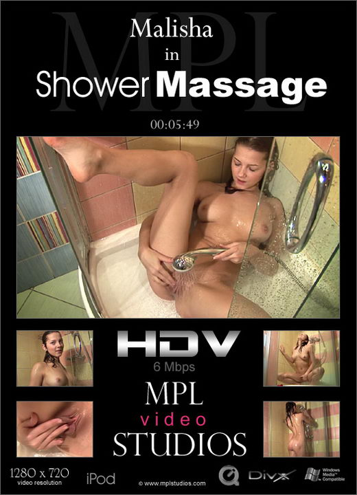 Malisha - `Shower Massage` - by Alexander Fedorov for MPLSTUDIOS
