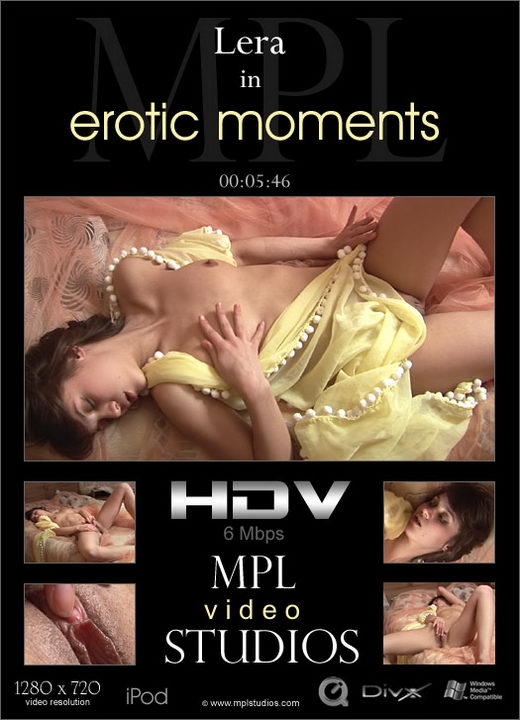 Lera - `Erotic Moments` - by Alexander Fedorov for MPLSTUDIOS