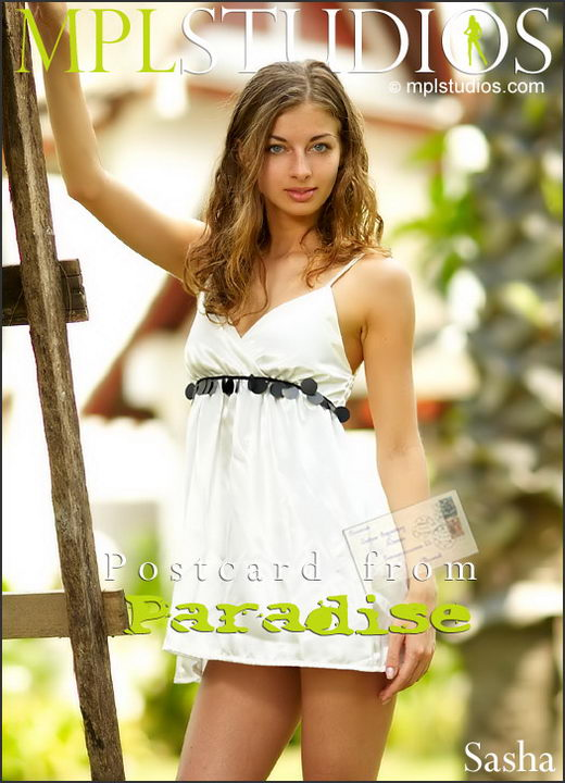 Sasha - `Postcard from Paradise` - by Jan Svend for MPLSTUDIOS