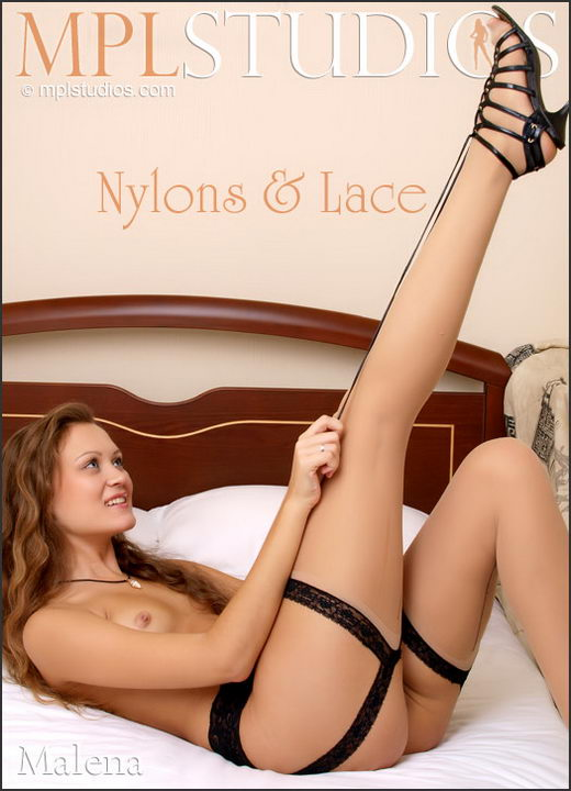 Malena - `Nylons & Lace` - by Aztek for MPLSTUDIOS
