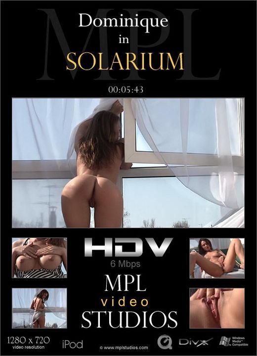 Dominique - `Solarium` - by Alexander Fedorov for MPLSTUDIOS