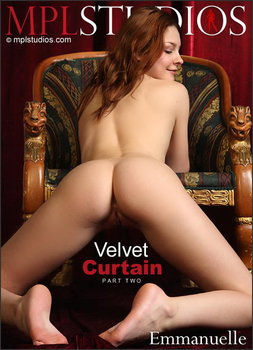 Emmanuelle - `Velvet Curtain 2` - by Sergey Skokov for MPLSTUDIOS