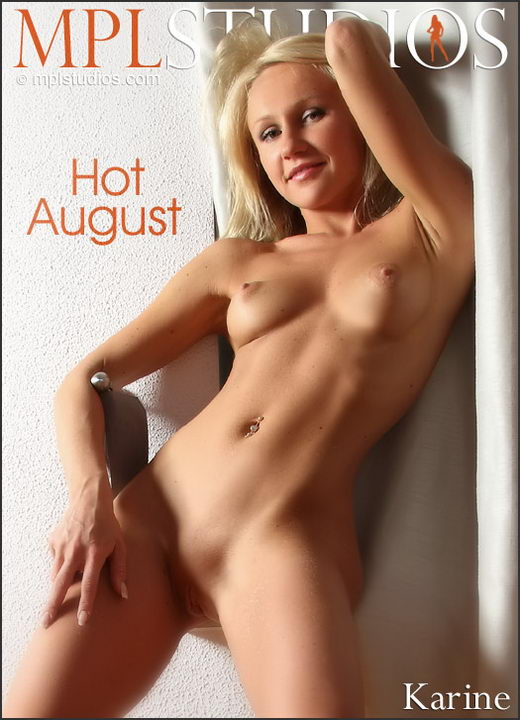 Karine - `Hot August` - by Alexander Fedorov for MPLSTUDIOS