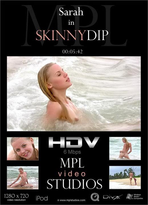 Sarah - `Skinny Dip` - by Jan Svend for MPLSTUDIOS