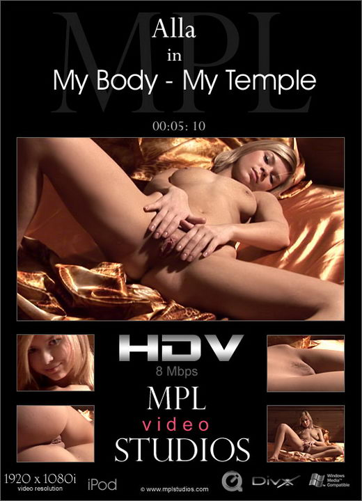 Alla - `My Body - My Temple` - by Alexander Fedorov for MPLSTUDIOS