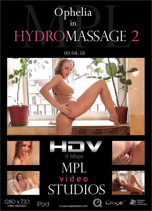 Ophelia - `HydroMassage 2` - by Alexander Fedorov for MPLSTUDIOS