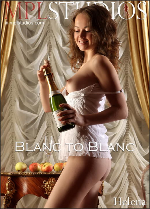 Helena - `Blanc to Blanc` - by Alexander Fedorov for MPLSTUDIOS