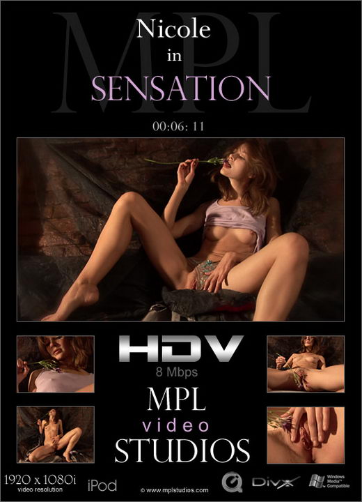 Nicole - `Sensation` - by Alexander Fedorov for MPLSTUDIOS