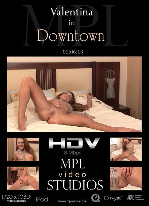 Valentina - `Downtown` - by Alexander Fedorov for MPLSTUDIOS