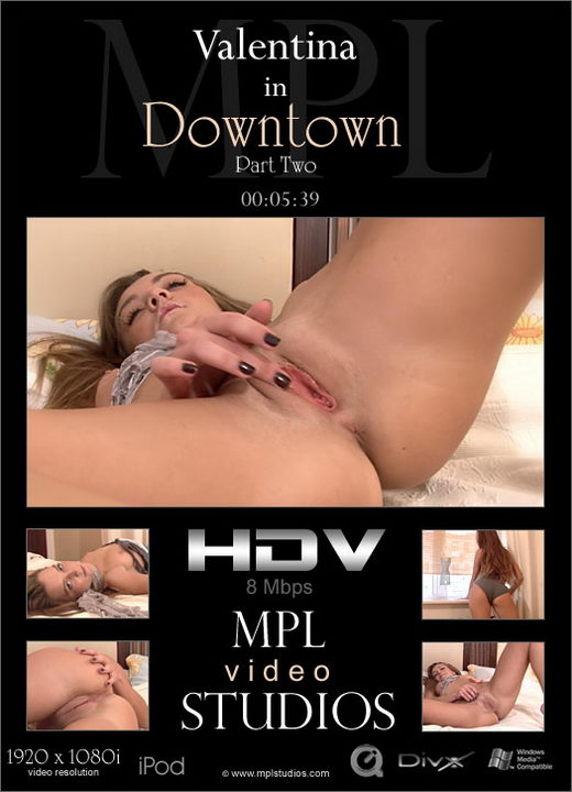 Valentina - `Downtown 2` - by Alexander Fedorov for MPLSTUDIOS