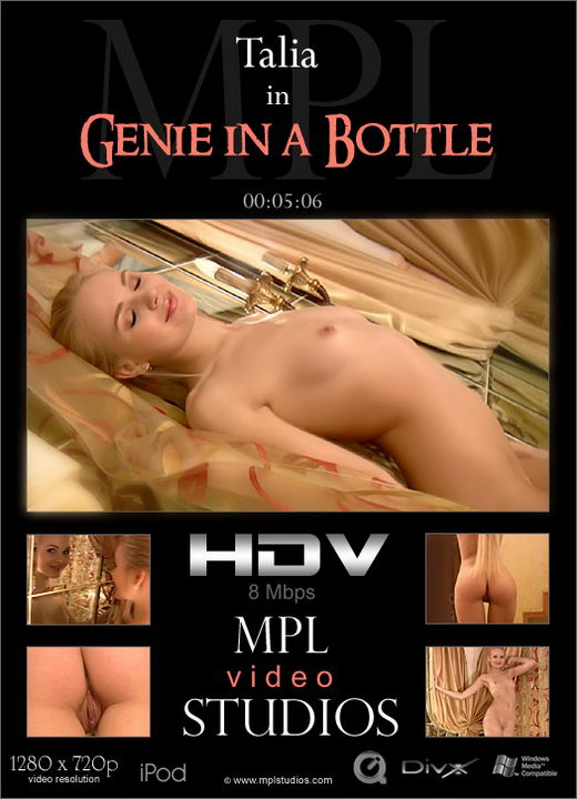 Talia - `Genie in a Bottle` - by Jan Svend for MPLSTUDIOS