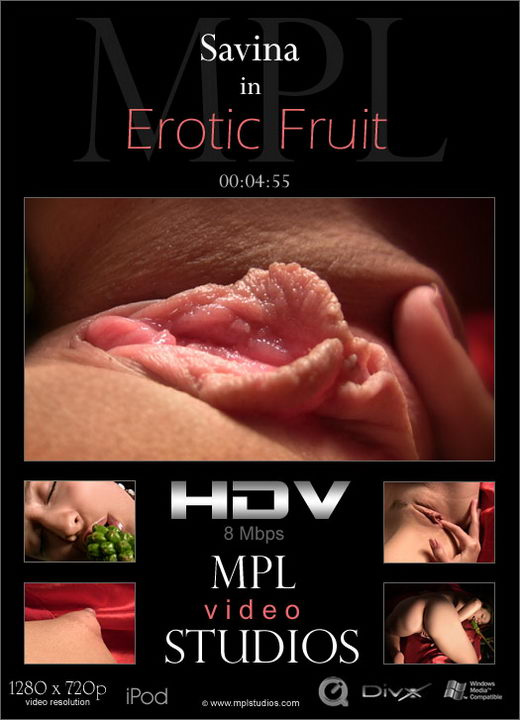 Savina - `Erotic Fruit` - by Alexander Fedorov for MPLSTUDIOS