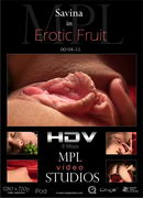 Savina in Erotic Fruit video from MPLSTUDIOS by Alexander Fedorov